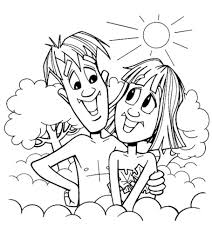 Adam and eve coloring page from the bible coloring pages index. Top 25 Freeprintable Adam And Eve Coloring Pages Online