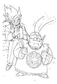 Kleurplaten Dragonball Z
