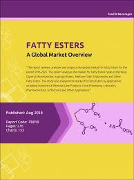 Fatty Esters A Global Market Overview Research And Markets