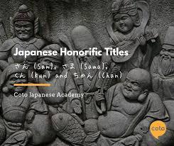 Japanese Honorific Titles San Sama Kun And Chan Learn