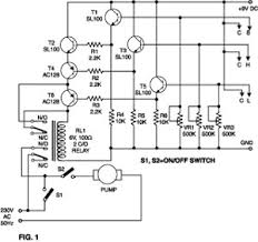 water level indicator sensor circuit water level sensor indicator circuit diagram we