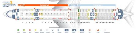 Singapore Airlines Fleet Boeing 777 300er Details And