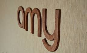 Wood Letter Wall Decor With fine Usd Wall Wood Letters Brown Or Modest