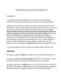 Letter Of Recommendation For Letter Recommendation Template College Admission Letter Of