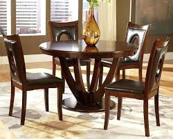 round wood dining table set solid wood round dining table keyhole parson chairs wooden dining table set singapore