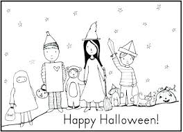 halloween costumes coloring pages halloween characters coloring pages costumes coloring pages