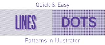 This is an interesting one, because technically in illustrator you can have a dotted line on any path possible, so whatever you draw out with the pen tool, you can create a dotted line piece of artwork with. How To Make Patterns In Illustrator Lines Dots