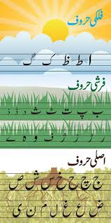 Haroof And Letter Chart Urdu Alphabets And English Letters