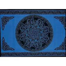 celtic tapestries wall hangings knot mandala blue altar hippie tapestry wall hanging bedspread celtic tapestry wall celtic tapestries wall hangings