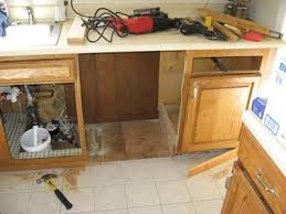cutting kitchen cabinets. Wonderful Cutting DIY Disaster Avoidance Cutting The Cabinet Space For Dishwasher For Kitchen Cabinets I