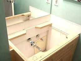 replacing a vanity. Brilliant Vanity Fashionable Replacing Bathroom Vanity How To Install Top Installing  Replacement In Replacing A Vanity