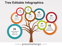 tree diagram powerpoint bubbles tree powerpoint diagram presentationgo com