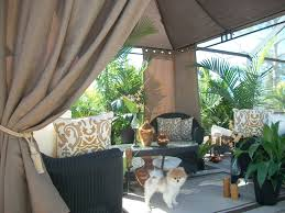 Indoor Patio nice cabana curtains patio beach burlap collection indoor 6685 by xevi.us