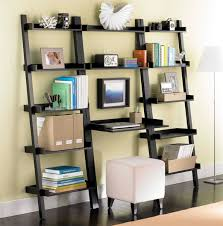 java linea leaning bookcase the container bookcase desk combo