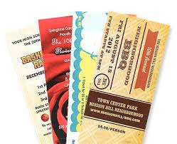 Event Ticket Printing Software Sell More Event Tickets With Software And Custom Printing