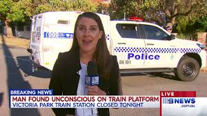 Victoria park reopens with major police presence to enforce lockdown. Victoria Park Station 9 News Perth Youtube