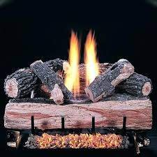 non vented gas fireplace reviews inch oak split log set with vent free natural vs logs non vented gas