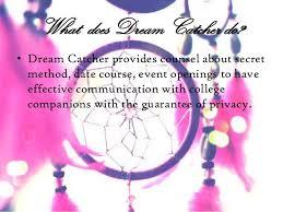 What Is Dream Catcher Dream catcher presentation 100 30
