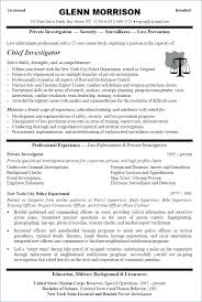 Security Resume Objective Examples Criminal Justice Resume Objective Examples Digiart