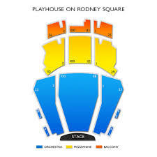Playhouse On Rodney Square Seating Chart Playhouse On Rodney Square Tickets