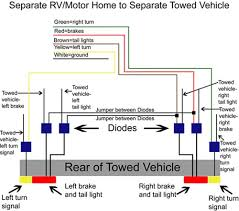 trailer wiring separate brake turn signal wiring diagram 2006 jeep grand cherokee trailer wiring harness wiring diagram