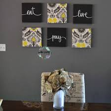black wall art canvas unique eat drink be merry wall decor yellow black wall art set