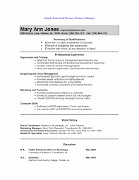 15 Fresh Combination Resume Sample Resume Sample Template And