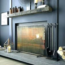 modern glass fireplace screen phoenix mahogany door with regard to contemporary screens prepare