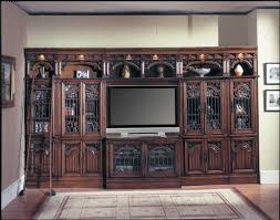 Parker House Barcelona Glass Entertainment Wall Unit PH BAR41X G7