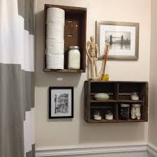 brown bathroom cabinet space gray wall white polished wooden vanity cabinet storage bathroom shelving small s