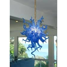 cobalt blue chandelier ocean style blue blown glass chandelier hanging lamps cobalt blue chandelier crystals