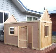 build your own playhouse kit white build a playhouse roof free and easy project and furniture