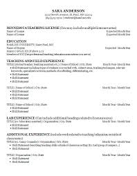 Education Cover Letters Resumes and Cover Letters Career Development Center Hamline 83