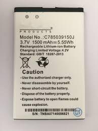BLU Dash JR 4,0 K Batterie ...