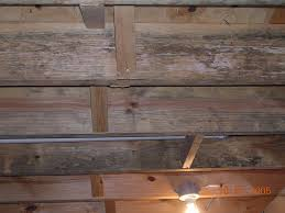 Hardwood Ceiling Beams For Basement Remodel Ideas - Painted basement ceiling ideas