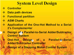 Asm Chart For 2 Bit Up Down Counter 1 System Level Design