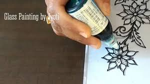 Easy and Simple Glass Painting for Tutorial for Beginners| Art and Design |  DnyanSugandh Academy