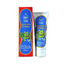QV KIDS 24 hour moisturising/hydration Cream, relief of eczema ...