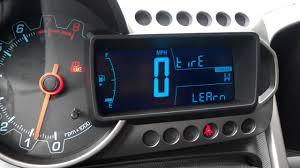Chevy Sonic Tire Pressure Light Chevy Sonic Dic Menu 1
