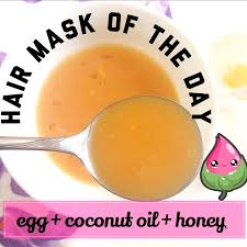 must try weekly hair conditioning treatment egg hair mask with coconut and honey