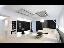 black and white living room design