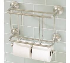Double Toilet Paper Holder With Magazine Rack Mercer Magazine Rack Paper Holder Pottery Barn In Toilet With 2