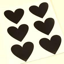 chalk board stickers chalkboard heart sticker labels wall decal hobby lobby
