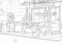 Free lego drawing printable pages. Lego Friends Coloring Pages Printable Free Coloring Home