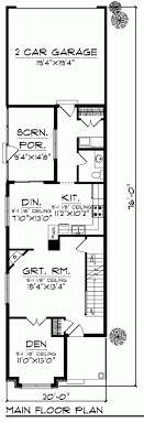 Old Narrow Lot House Plans Long Narrow Lot House Plans  craftsman    Old Narrow Lot House Plans Long Narrow Lot House Plans