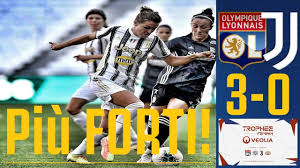 Olympique Lyon 3-0 JUVENTUS WOMEN   LIONE PIU' FORTE, MA ESPERIENZA  IMPORTANTE PER LE WOMEN!!! - YouTube