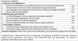 peer edit checklist research papers college paper academic  peer edit checklist research papers