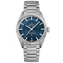 omega watches quality swiss watches ernest jones watches omega constellation globemaster men s bracelet watch product number 3450368