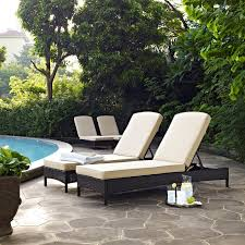Crosley Furniture Palm Harbor 3Piece Outdoor Wicker Bar Set Palm Harbor Outdoor Furniture