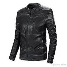 top quality men s leather jacket 2018 autumn mens leather jacket motorcycle jacket coat stitch slim luxury outwear big size m 4xl 1830 uk 2019 from xi